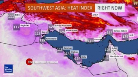 Iran heat Index